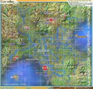 corellia map